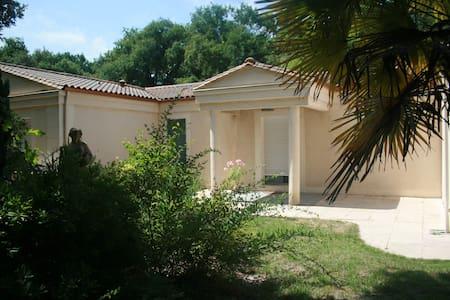 villa plain-pied piscine jardin - Saint-Aubin-de-Médoc
