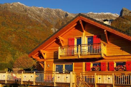 Chalet de montagne tout confort - Huis