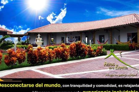 Confort con paisaje cafetero colombiano - Casa de huéspedes
