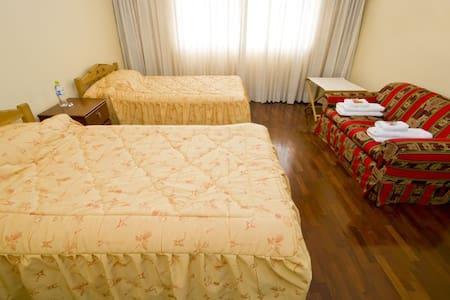 A room at home, Barranco, Lima
