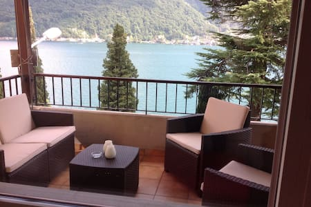 Splendida vista lago Vico Morcote - Apartment