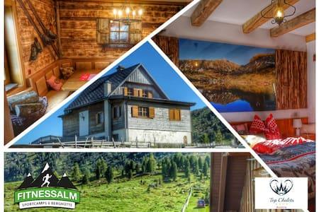 Dream Chalet Austria 1875m - Outdoorsauna and Gym - Rumah