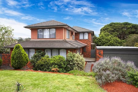 Fabulous 6 Bedroom home sleeps 12 - Templestowe - Dom