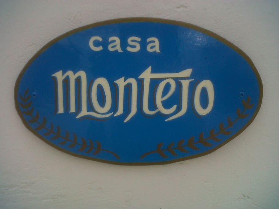 Casa Montejo.   The name of the house, you will find this on the front of the house, no number, just Casa Montejo.