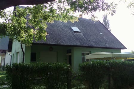 Two rooms for six people at Balaton - House