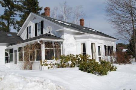 #1 Winter Fun at 1790 farmhouse!