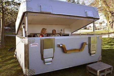 Kofferhotel am Freizeitteich Seebach bei Turnau - Graßnitz - Hut