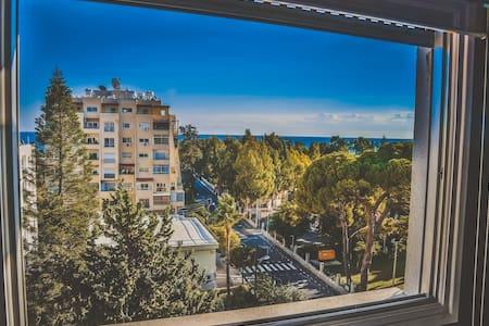 Room for two with sea view - Mesa Geitonia - Apartamento
