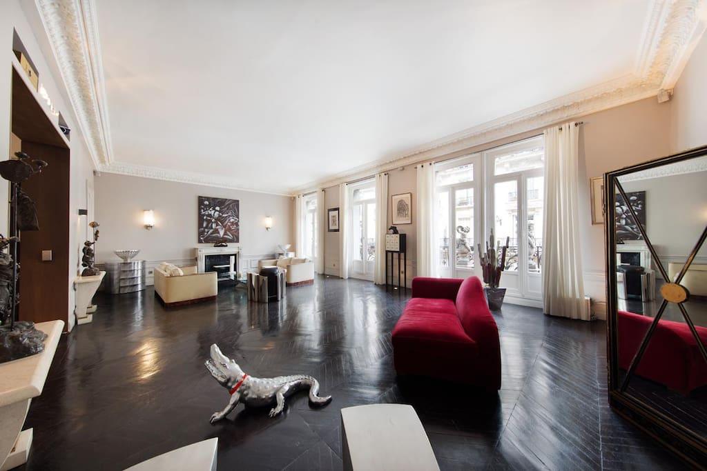 Luxury appart champs lys es 220m2 appartements louer - Interieur appartement original et ultra moderne a paris ...