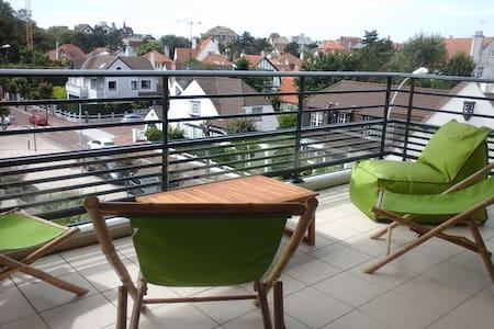 82m2 lumineux, terrasse sud-ouest, Wi-fi - Le Touquet-Paris-Plage - Apartamento