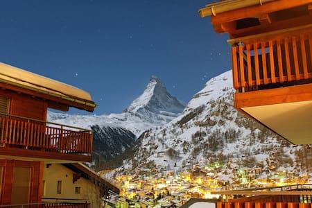 Cozy Alpine Chic - 2 BDR - Zermatt