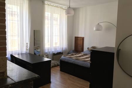 Chambre confortable en centre ville - Charleville-Mézières - House