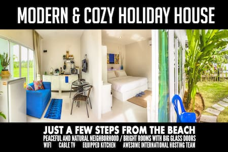 1BR House 300m to beach, sleeps 2-3 - Ev