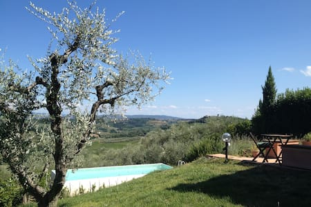 Cosy rooms, splendid Chianti views - Bed & Breakfast