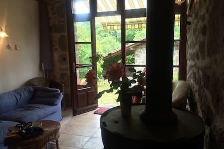 Eine ruheoase in kleinem weiler ! - Piégut-Pluviers - House