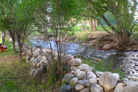 Share a Cabin on the Creek 2/1