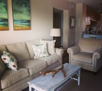 2 bedroom/2 bath oceanfront condo - North Topsail Beach