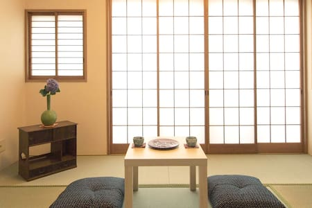 Beauty of Japan. Modern Wa-room - Setagaya-ku - Casa