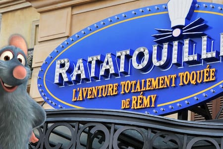 RATATOUILLE / DISNEYLAND PARIS 5MIN... - Leilighet