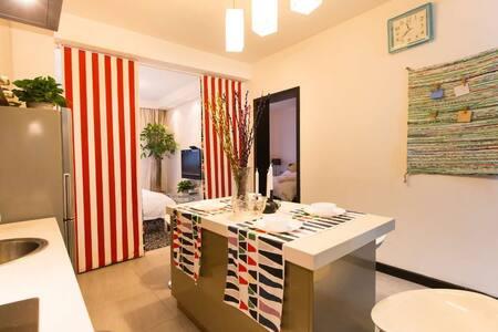 出门到西湖,南山路旁,精装现代日式温馨两房,近湖滨银泰吴山广场河坊街 - Hangzhou - Appartement