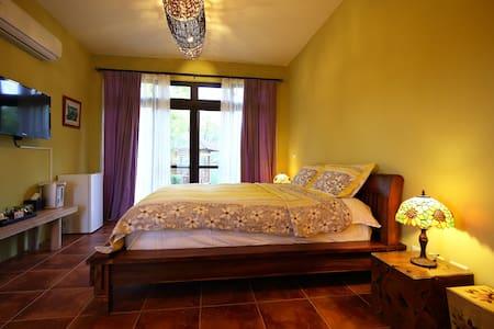 峇里島風-101雙人房-花蓮壽豐笛之森莊園民宿 - Appartement