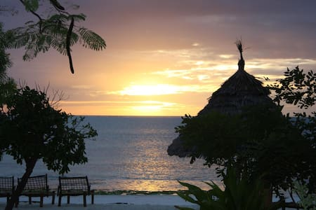 COZY DOUBLE ROOM ON THE BEACH - Jambiani - Daire