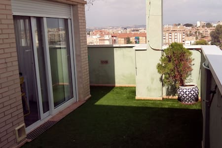 penthouse two bedrooms and two bathrooms, parking - Murcia - Apartment