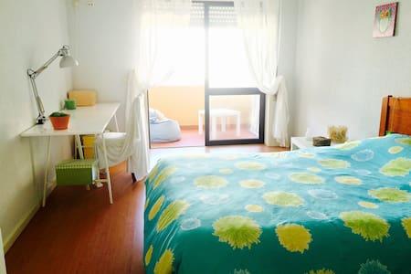 Spacious and cosy room by the sea - Póvoa de Varzim - Apartament