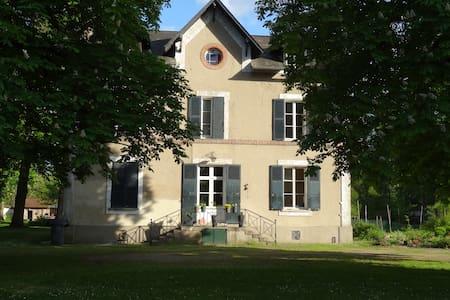 La Gravine maison au bord du Loing