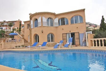 Villa Adelfas en Benitachell para 4 - Vila