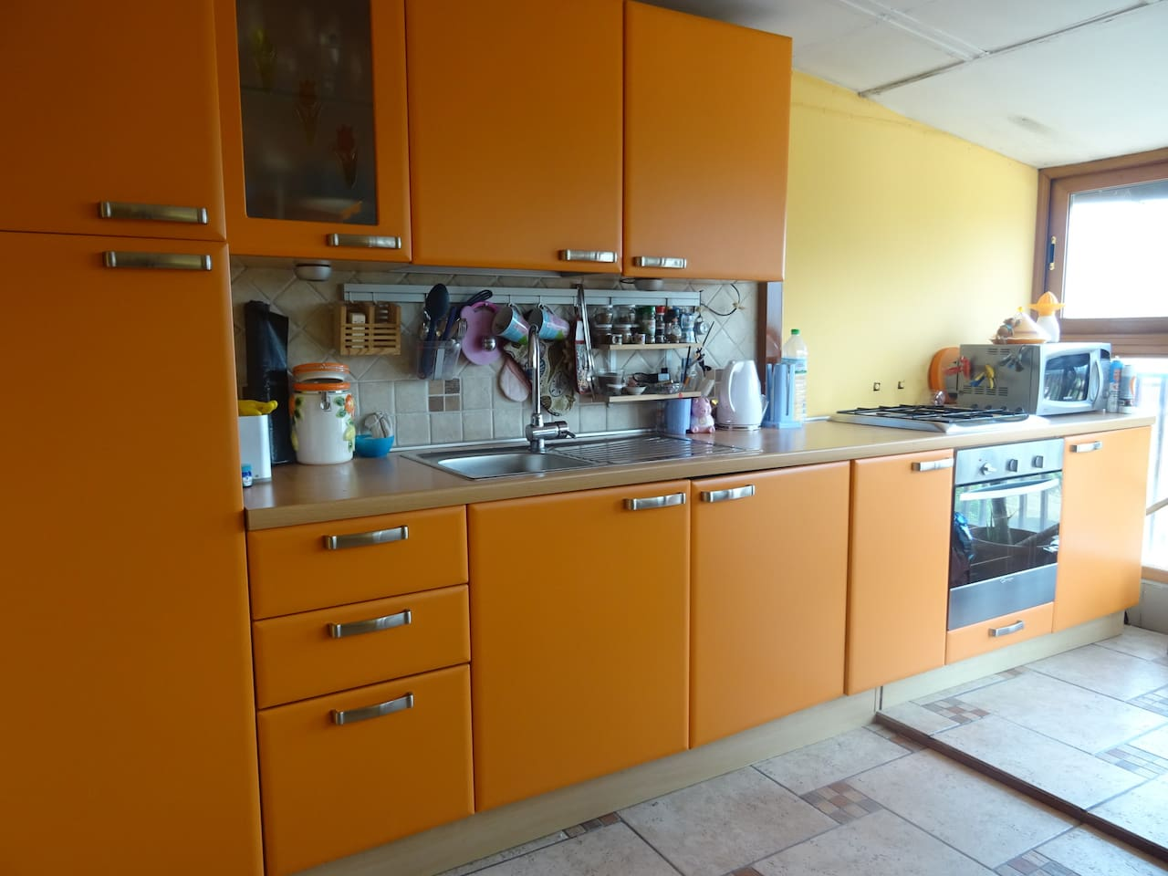 Super Attico soleggiato, comodo ed accogliente - Apartments for ...