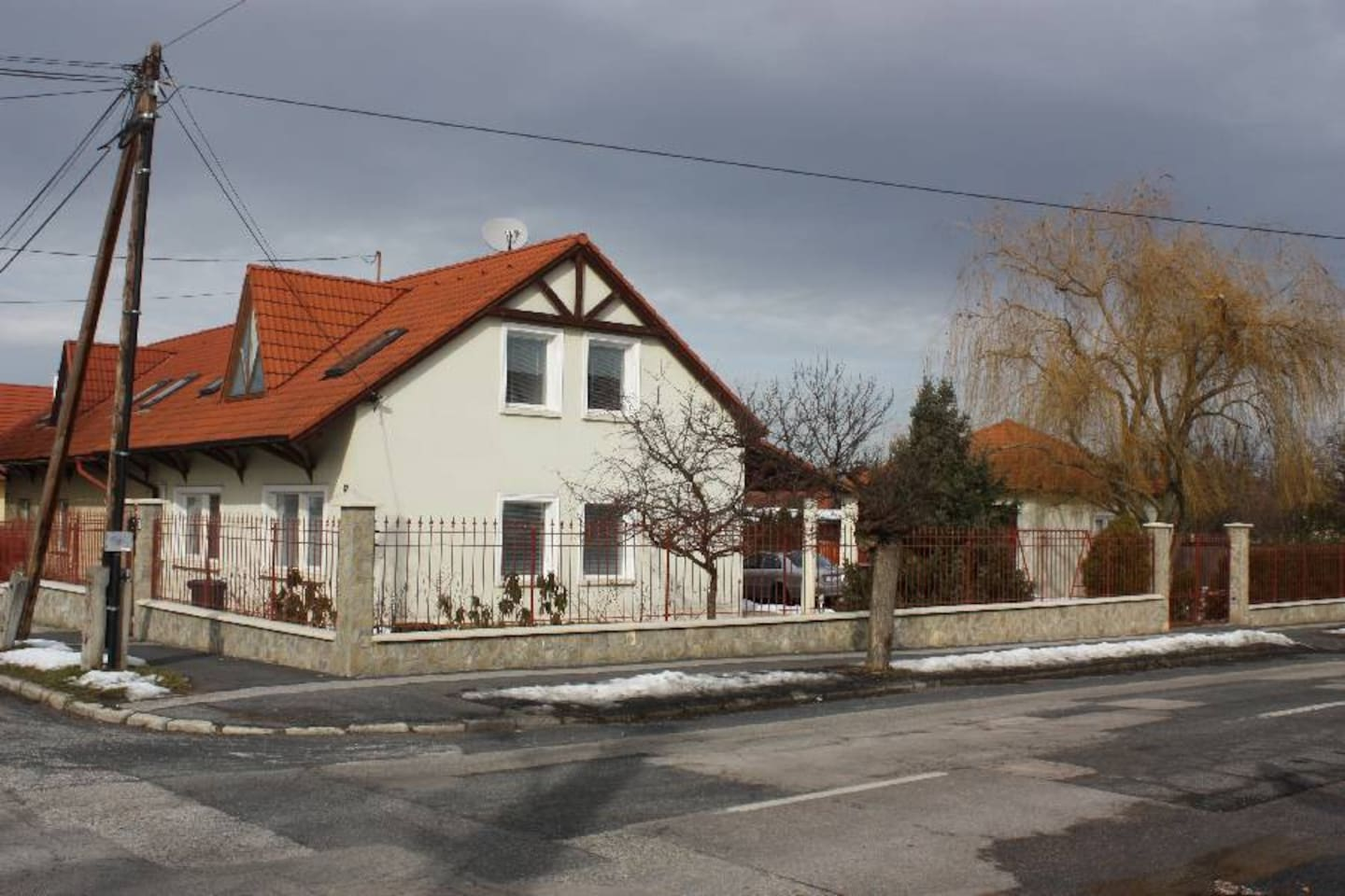 The hause in spring