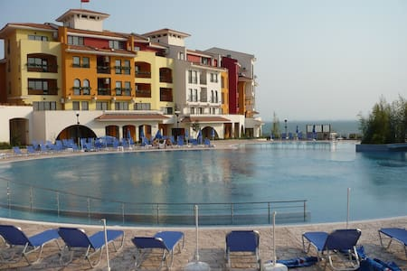 VisitSunnyBeach Iliyana Sea View Studio - Apartment