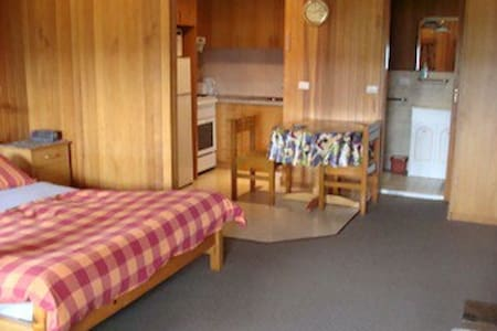 Central Studio Apt with Fireplace - Jindabyne - Apartment