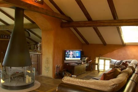 A true hidden gem of luxury and breath-taking beauty.   A drive away from Sella Nevea ski resort and Cerkno.  Beautiful, upscale decor with rustic charm throughout the house.  All modern amenities.   Private Pool (summer).  Sauna.