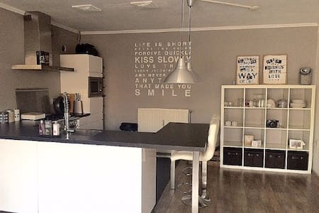 Modern apartment in Haarlem + bikes