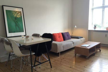 Cool and cozy in the hipster quarter of Cph - Kopenhagen - Appartement