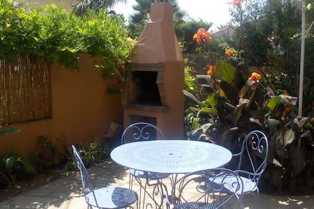 Studio-jardin Plein Sud 3,5km plage - Apartmen