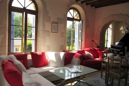 Romantic room in a charming house - Château-du-Loir