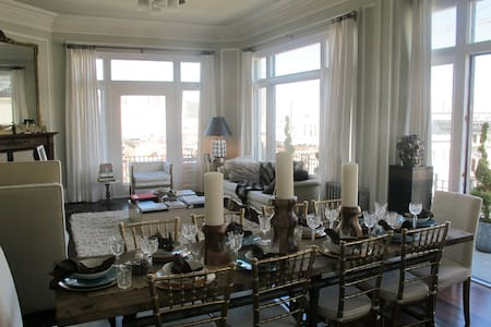 Elegant Lower Pac Heights Penthouse - San Francisco - Apartment