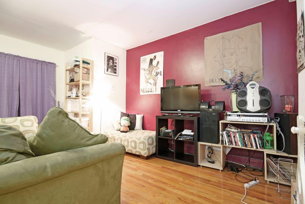 Cozy Corners in Crown Heights!