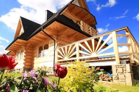 Beautiful countryside house, perfect polish winter - Dzianisz - House
