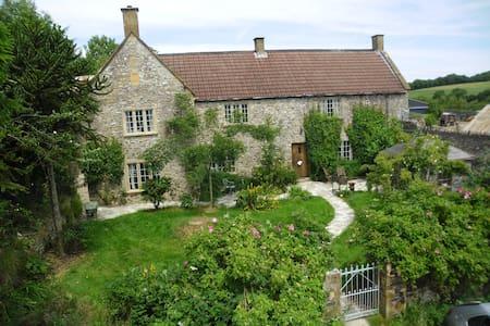 fyfett Farm house 3 beds in Yarty bedroom - otterford - House