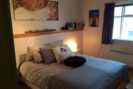 Einarsstaðir Homestay, large double room - Bed & Breakfast