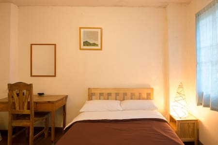 Single room with a semi-double bed