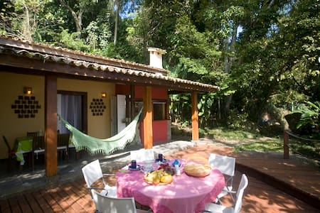 2 Beach Houses Charming Picinguaba - Picinguaba