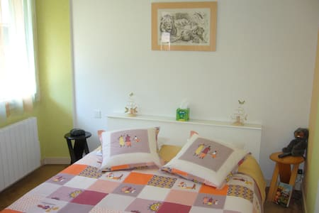 ARVI-PA / Roxane, sur lit de 160 - Arbin - Bed & Breakfast