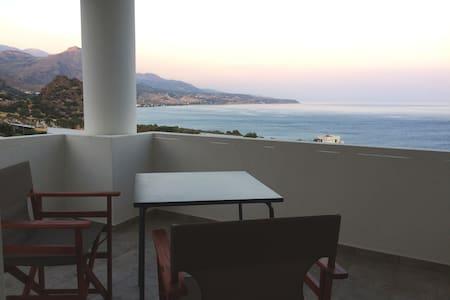 New studio apartment with sea view - Keratokampos - Leilighet