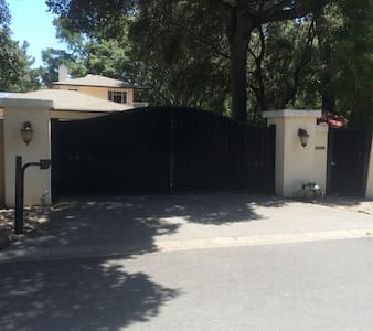 Gated Estate In-Law Unit 2 bedroom apt. - Atherton
