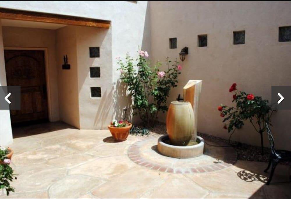 Private Casita courtyard
